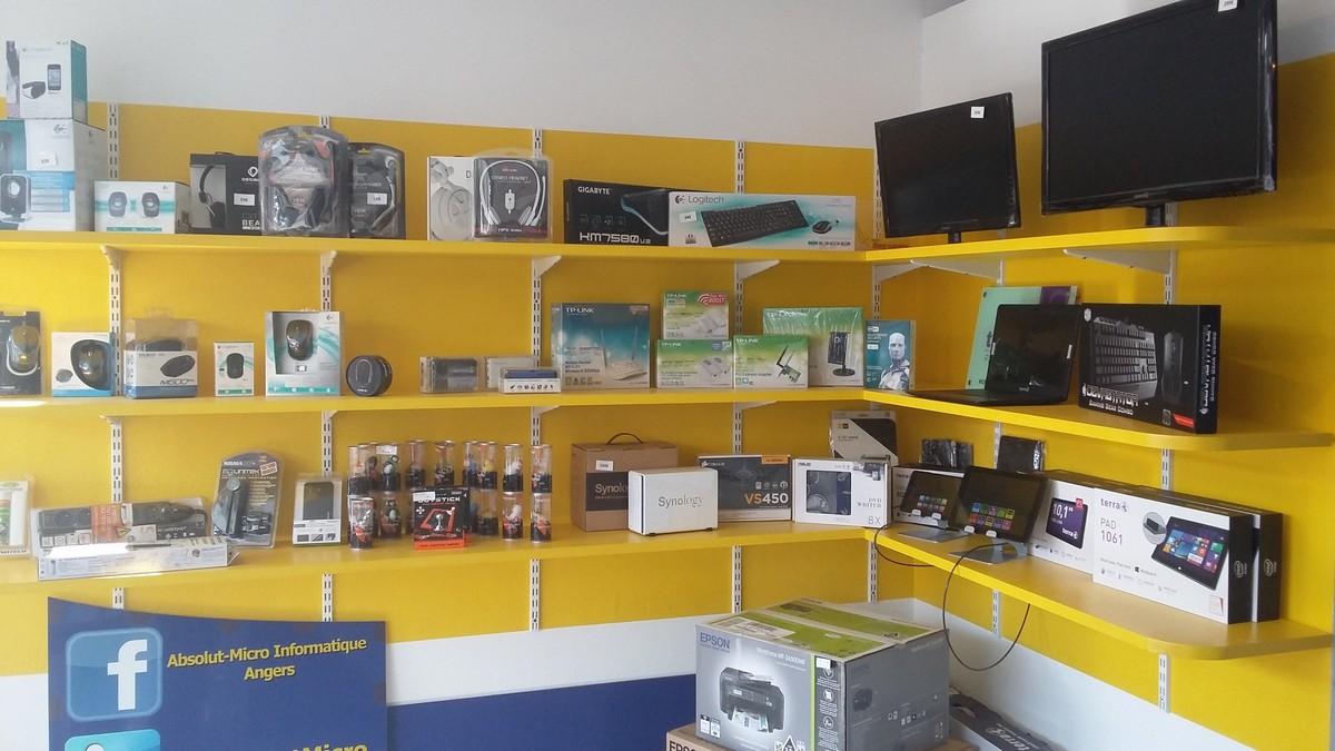 le magasin mat riel et services informatiques sur angers professionnels et particuliers. Black Bedroom Furniture Sets. Home Design Ideas